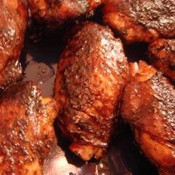 Cajun Teriyaki Chicken Wings