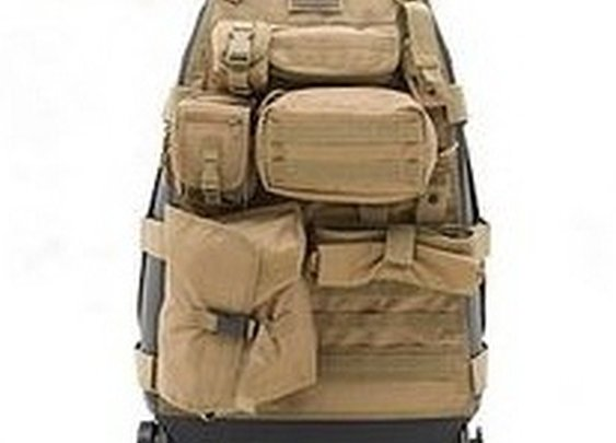 Organize your Bug Out Vehicle with Tactical Seat Covers