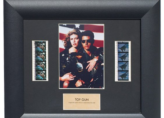 Limited Edition Top Gun Film Cell Display  - Sporty's Wright Bros