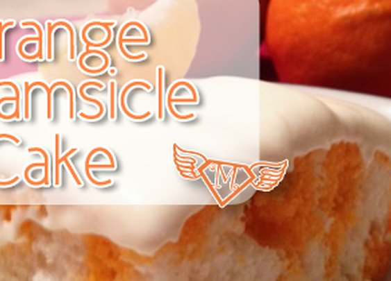 Orange Creamsicle Cake   Chasing Supermom