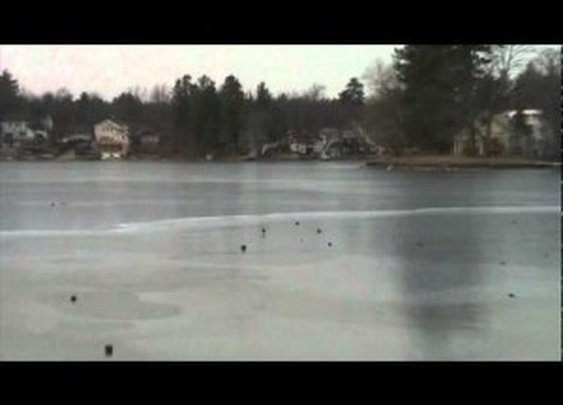 Laser Gun Noises From a Slightly Frozen Lake