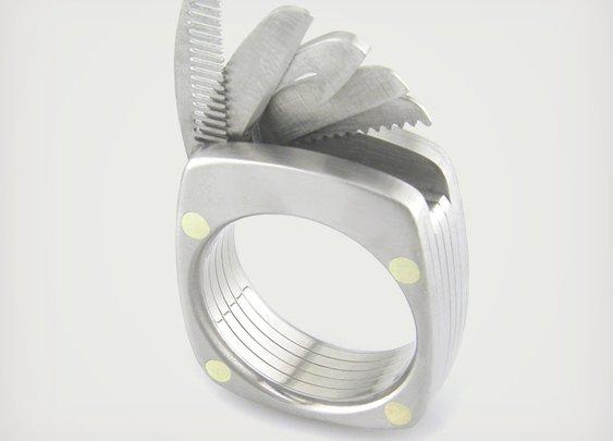 Titanium Utility Ring | Cool Material