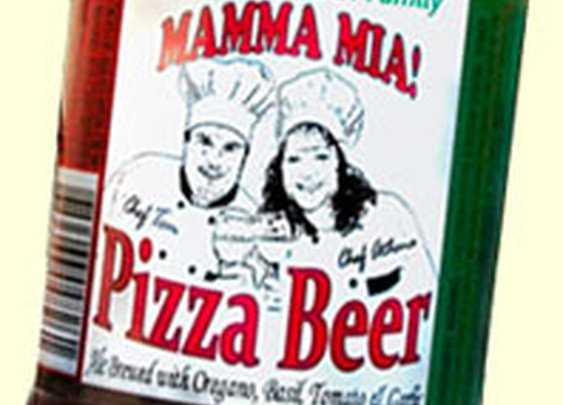 Tom Seefurth's Mamma Mia Pizza Beer