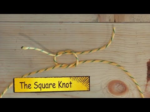 Basic Knots for every Man! - YouTube