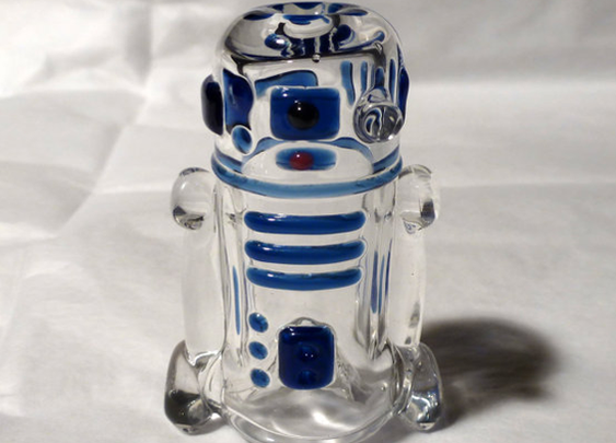 Glass R2D2 Pipe