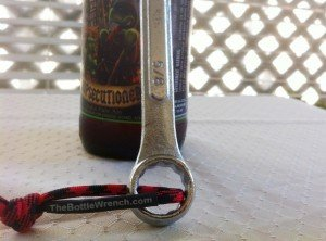 The Bottle Wrench - Manly Beer Opener  | The Trot Line