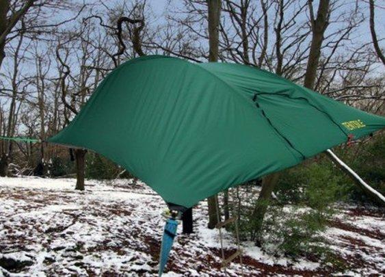 Tentsile unveils Stingray suspended tent