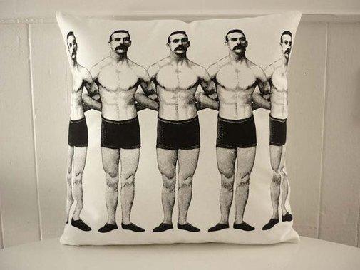 Petaluma Supply Co. - Interlocking Arms Pillow