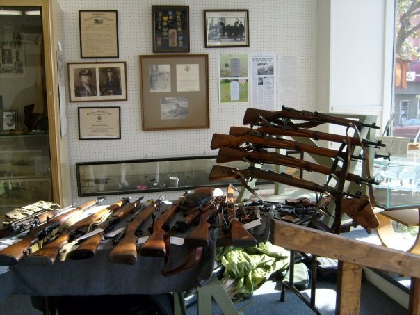 WWII gun collection
