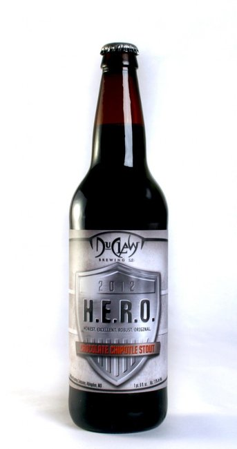 DuClaw Brewing Company - Respect the Fluid - H.E.R.O. Chocolate Chipotle Stout