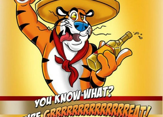 Tony the Tequila Tiger!