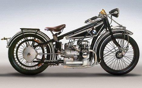 Vintage BMW Motorcycle Photos