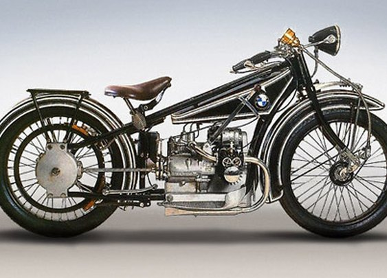 Vintage BMW Motorcycle Photos