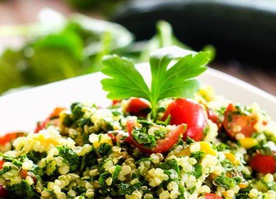 Spinach Quinoa Tabbouleh - Cooking Quinoa