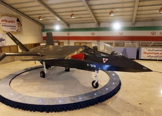 Qaher F-313 - Iran's homegrown tactical stealth fighter