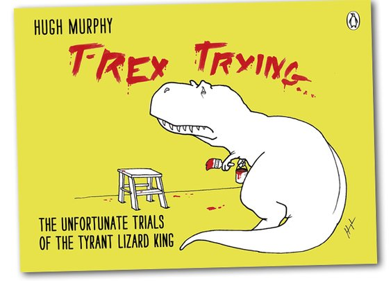 T Rex Trying Book | That Should Be Mine