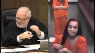 Flipping the Bird to the Judge - YouTube