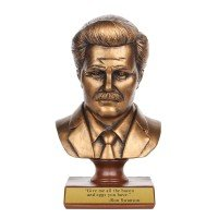 Parks and Recreation Ron Swanson Bust | Parks and Recreation | NBC