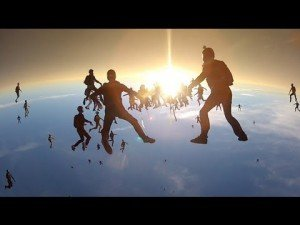 GoPro: Vertical Skydiving World Record 2012