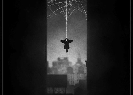 Fantastic Film Noir-Inspired Superhero Posters