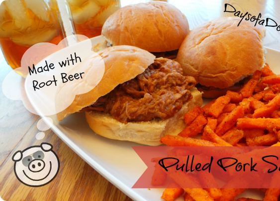 Pulled Pork Made with Root Beer | Days of a Domestic Dad