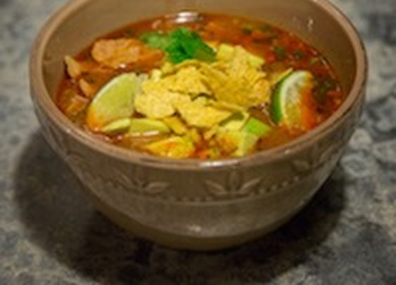 """Mexican Cold Front"" Soup"