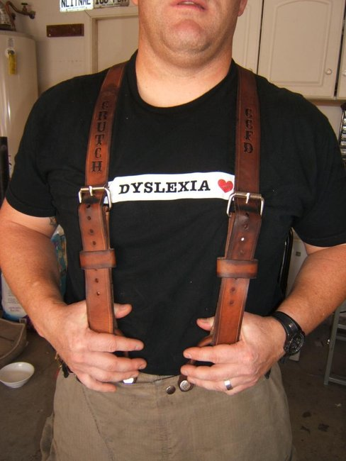 Fire Leather - Suspenders