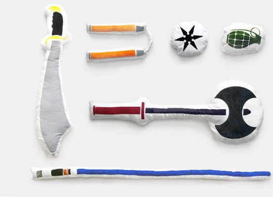 Pillow Fight Weapons | That Should Be Mine