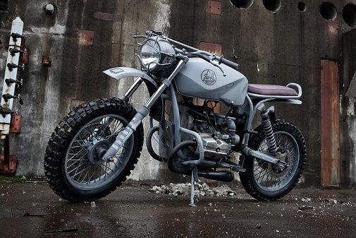 Quartermaster Motorcycle | Uncrate