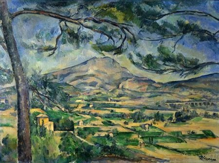 Montagne Sainte-Victoire :: Paul Cezanne