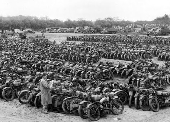 Military Motorcycles For Sale ~ Grease n Gasoline