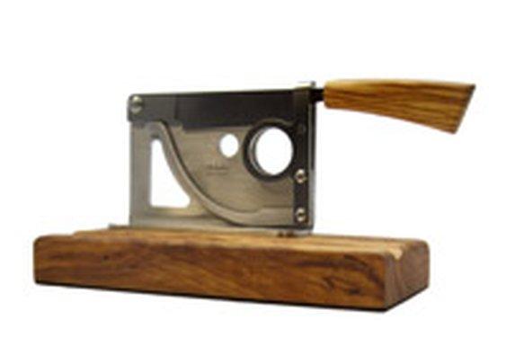 ItalianSmokes.com: Saladini Classic Tabletop Cigar Cutter: Cigar Cutters