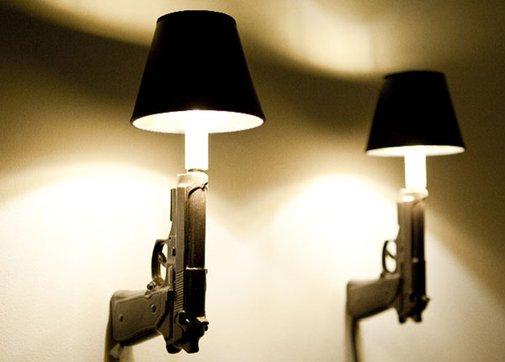Pistol Lamp