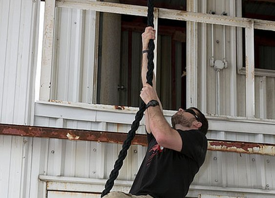 How to Climb a Rope Like a Navy SEAL | The Art of Manliness