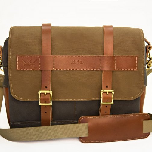Messenger Bag  |  White Wing Label