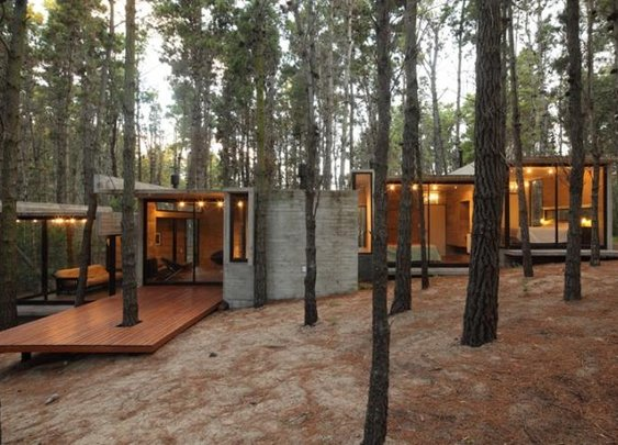 Awesome House in the Woods