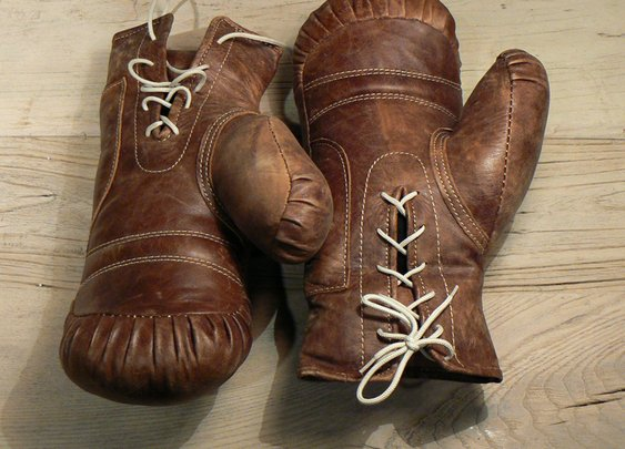 Vintage Boxing Gloves   That Should Be Mine