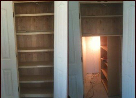 Secret Stash Room Behind Bookcase Door | StashVault