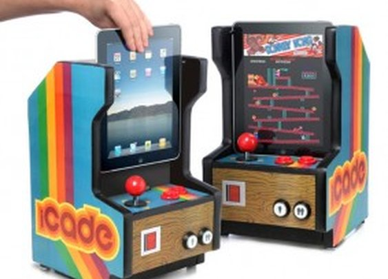 iCade Arcade Cabinet for the iPad