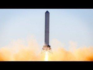 Watch: SpaceX's Grasshopper 12-Story Test Flight