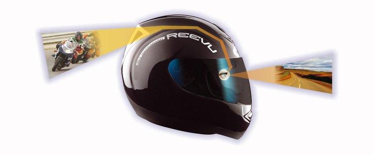 Reevu MSX-1, the Rear-View Helmet