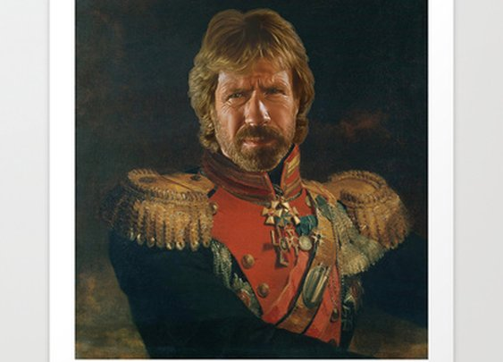 Chuck Norris by Replaceface