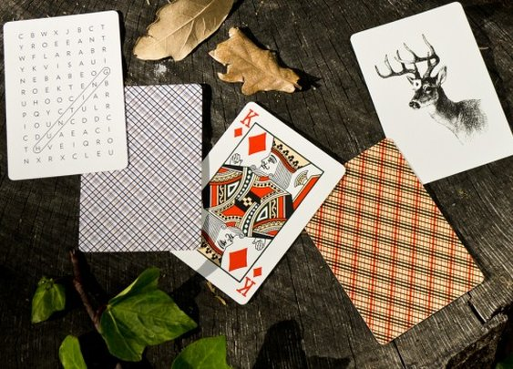 Vintage Plaid Playing Cards | Dan & Dave