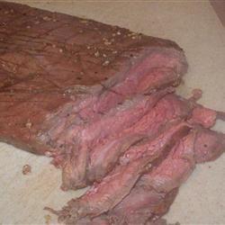Bourbon Flank Steak