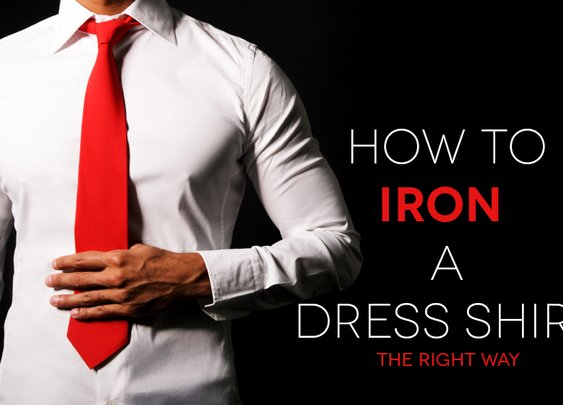 How To Properly Iron a Dress Shirt | The Roosevelts