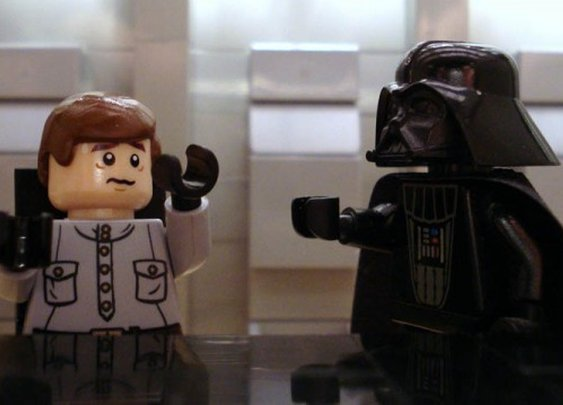 Famous Movie Scenes Recreated With Lego by Alex Eylar