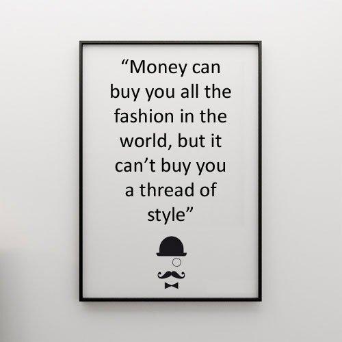 money vs style