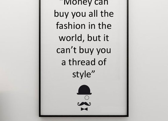 money vs style