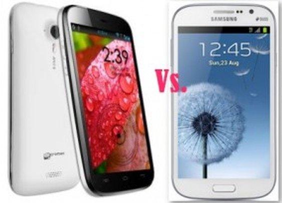 Micromax Canvas HD Vs Samsung Galaxy Grand Features Comparison