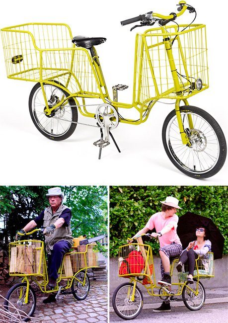 Camioncyclette - The Pickup Truck Of Bicycles